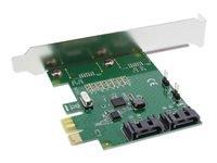 Bild von INLINE Schnittstellenkarte 2-fach SATA 6Gb/s x1 PCIe 2.0 RAID 0/1/SPAN