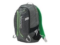 Bild von DICOTA Backpack ACTIVE 39,6cm 14-15,6Zoll grau/limette