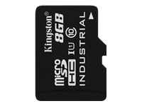 Bild von KINGSTON 8GB microSDHC UHS-I Industrial Temp Card Single Pack w/o Adapter