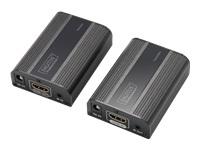 Bild von DIGITUS 4K HDMI Extender Set HDMI 2.0 30/60m over network cable Cat 6 6a 7 UHD 4K2K/60 Hz