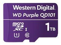 Bild von WD Purple 1TB Surveillance microSD XC Class - 10 UHS 1