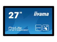 Bild von IIYAMA TF2738MSC-B1 ProLite MON 27in AMVA LED 10-point Touch 1920x1080 5ms Speakers VGA DVI