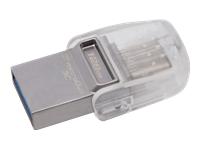 Bild von KINGSTON 128GB DT microDuo 3C, USB3.0/3.1 + Type-C flash drive