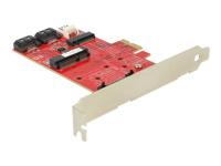 Bild von DELOCK PCIe x1 > 1 x mSATA, 1 x Mini PCIe, 1 x M.2