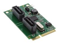 Bild von INLINE Mini-PCIe Karte 2x SATA 6Gb/s RAID 0,1,SPAN