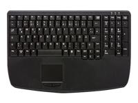 Bild von ACTIVE KEY AK-7410-GU-B/GE USB (DE) Touchpad schwarz 104 Tasten wassergeschuetzt