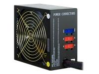 Bild von INTER-TECH CPM-750W II Plus Modular Netzteil 135mm Luefter aktive PFC 8xSATA 2x PCI 6+2pin 1x20+4pin