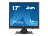 Bild von IIYAMA Prolite E1780SD-B1 43cm 17Zoll 5000000:1 ACR 5ms DVI 250cd/m2 Lautsprecher 2x1W schwarz
