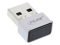 Bild von INLINE USB Fingerabdruckscanner Windows Hello kompatibel