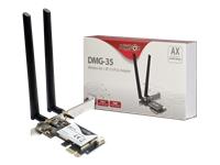 Bild von INTER-TECH DMG-35 3000Mbps WLAN / BT 5.0 3000 Mbps 2.4 GHz / 5 GHz Bluetoothstandart 5.0