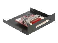 Bild von DELOCK Card Reader-SATA 8.9cm 3.5 Zoll CF schwarz