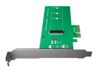 Bild von ICY BOX Interne M.2 NVME PCI-Karte IB-PCI208  unterstuetzt M.2 PCIe SSD zu PCIe 3.0 x4 Host Unterstutzt M.2 2280/2260/2242 mit M-Key