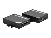 Bild von DIGITUS HDMI Extender CAT5 Cat6 100m Set Sender + Empfänger RS232 Port kaskadierbar inkl. Netzteil
