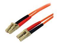 Bild von 3 m Multimode 50/125 Duplex LWL-Patchkabel LC - LC - Glasfaser Netzwerkkabel