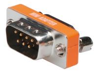 Bild von ASSMANN Null Modem Adapter D-Sub9 Metallgehäuse M/F mit Sechskantmuttern