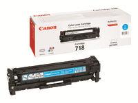 Bild von CANON 718 Toner cyan Standardkapazität 2.900 Seiten 1er-Pack