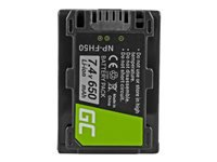 GREENCELL CB61 Battery Green Cell NP-F - Kovera Distribution