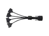 Bild von MATROX CAB-KX20-4XDF KX20-100 TO 4X DVI-I adapter cable 1 foot