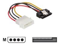 Bild von DELOCK Adapter Power SATA HDD -> 4Pin/St Metall