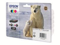 EPSON 26XL BEAR MULTIPACK - Musteet, paperit ja väripatruunat - 8715946519883 - 1