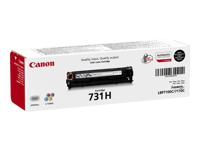 Bild von CANON 731H-BK Toner schwarz hohe Kapazität 2.400 Seiten 1er-Pack