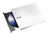Bild von ASUS SDRW-08D2S-U Lite ext.Slim DVD Brenner 8x DVD±R 6x DVD±R DL 5x DVD-RAM USB 2.0 inkl.Cyberlink Power2Go weiss