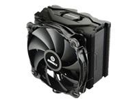 Bild von ENERMAX ETS-F40-BK CPU Cooler mit Silence PC Luefter 14cm. 6mm Heatpipes direct touch. Platzsparende Bauweise. Komplett Schwarz
