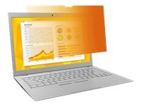 Bild von 3M Blickschutzfilter Gold GF133W1B für 33,78cm 13,3Zoll Laptops 16:10  mit COMPLY Befestigungssystem