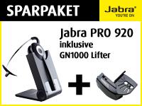 Bild von Bundle JABRA PRO 920 + 1000-04 GN1000 Hoererlifter