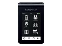 Bild von REINERSCT tanJack deluxe Logo Zwei-Faktor-Authentisierung Photo QR-Leser Kalenderfunktion Temperaturanzeige Kalkulator