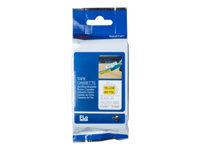 Bild von BROTHER FLe-6511 FLe-Einzelfähnchen-Etiketten gelb/schwarz 72 St/Kassette für Brother P-touch D800W, P900W, P950NW