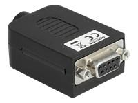 Bild von DELOCK Adapter Sub-D 9 Pin Buchse zu Terminalblock 10 Pin mit Gehäuse