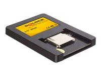 Bild von DELOCK Card Reader-SATA 6.4cm 2.5Zoll Laufwerk f.SD-intern