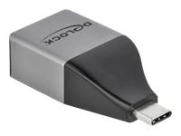Bild von DELOCK USB Type-C Adapter zu Gigabit LAN 10/100/1000Mbps – kompaktes Design