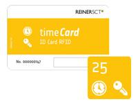Bild von REINERSCT timeCard RFID Chipkarten 25 DES 25 Stk Chipkarten-Mitarbeiterausweise ohne Mitarbeiterlizenzen