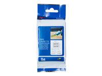 Bild von BROTHER FLe-2511 FLe-Einzelfähnchen-Etiketten weiss/schwarz 72 St/Kassette für Brother P-touch D800W, P900W, P950NW