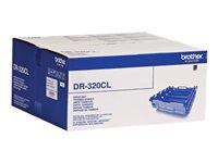 Bild von BROTHER DR-320 Trommel schwarz und farbig Standardkapazität 25.000 Seiten 1er-Pack