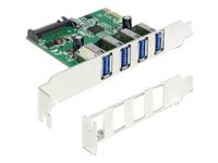 Bild von DELOCK PCI Express Karte > 4 x extern USB 3.0
