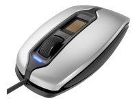 Bild von CHERRY MC 4900 Corded FingerTIP ID Mouse USB silver/black - mit integriertem FingerTip-Sensor