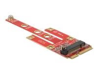 Bild von DELOCK Konverter Mini PCIe > M.2 Key B Slot + Micro SIM Slot