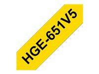 Bild von BROTHER HG651V5 Schriftbandkassette 24mm