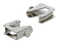 Bild von DELOCK Schirmklemme für Sammelschiene - Kabeldurchmesser 1-6mm