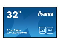 Bild von IIYAMA ProLite LH3246HS-B1 81,28cm 32Zoll Android-powered professional digital signage display with daisy chain function