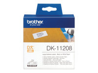 Bild von BROTHER P-Touch DK-11208 die-cut adress label big 38x90mm 400 labels
