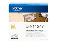 Bild von BROTHER DK Label Tape - Roll Adhesive Labels 103.6mm x 164.3mm 180 units / roll