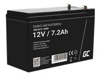 GREEN CELL Battery AGM 12V7.2AH - Kovera Distribution