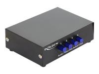Bild von DELOCK Switch 4-port Audio / Video manuell bidirektional