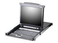Bild von ATEN CL5716M US 16-Port 43.18cm 17 Zoll LCD KVM Switch USB - PS 2 VGA with USB 14016764