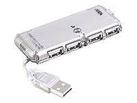 Bild von ATEN UH275 4P USB 2.0 HUB mit Netzteil
