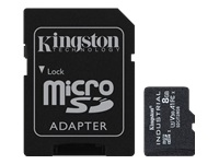 Bild von KINGSTON 8GB microSDHC Industrial C10 A1 pSLC Card + SD Adapter